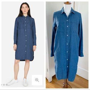Everlane The Linen shirt dress